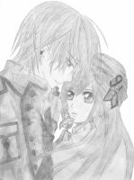 Zero and Yuuki - Vampire Knight by DashaChii