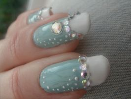 Jewellery Nails by OkBear