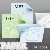 Paper Icons by tea00
