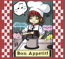 Cooking Girl by L-Ange-Noir