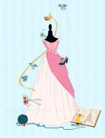 We'll make a lovely dress for Cinderelly! by YaneYing