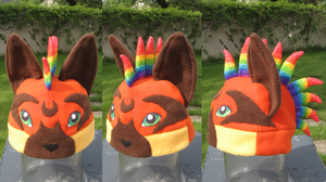 Syris Fox Hat by clearkid