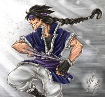 Gajeel - The Iron Mage by sarumanka