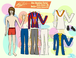 RINGO STARR PAPER DOLL 3 by 89000007ANL