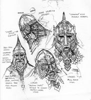 dwarf masks 2 by TurnerMohan