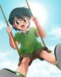 On a Swing to the Sky by LauraPaladiknight