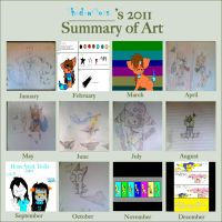 My Summary of Art 2011 by ShadowMoss