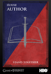 Game of Thrones Sigil: The Author Fighters by PhoenixoftheDarkness