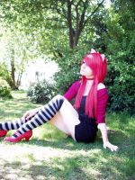 Lucy Cosplay, Elfen Lied. by CompletePsycho