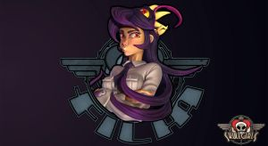 Filia Skullgirls wallpaper by Magna-omega