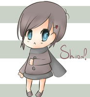 Chibi Shion by Cheybobstevepants