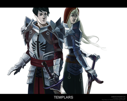 Templars by GoldKanet