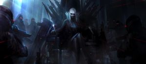 I am Jormungand! and this is my lead throne!! by theDURRRRIAN