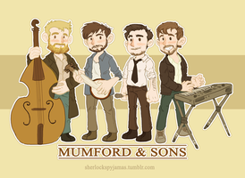 Mumford and Sons by ShazTheRaz