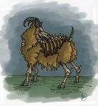 Zombie Sheep by zenobia