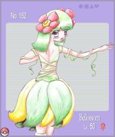 :Bellossom: by Cae-Lar