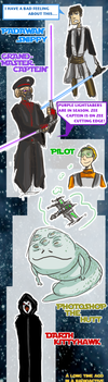 AU CONTEST: Romantically Apocalyptic/Star Wars by eight0fhearts