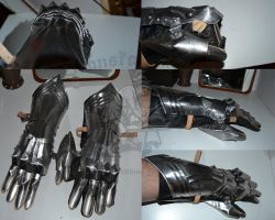 15th century finger gauntlet by Skane-Smeden