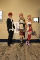 AFO 2015: Reno, Lightning, and Serah by pgw-Chaos