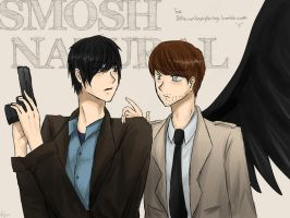 Cross-Fandom : Smoshnatural by Reikiwie
