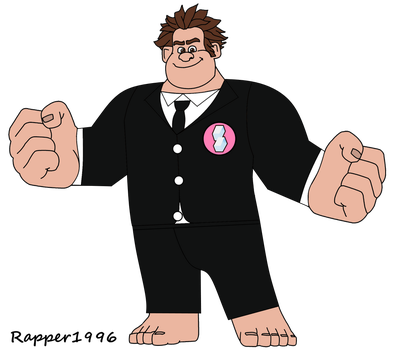 Wreck-It Ralph in a Night Out Suit by Rapper1996