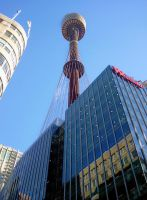 Sydney Tower getting closer by RaynePhotography