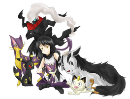 Blake Pokemon Team by Babero