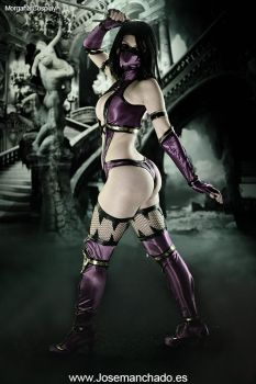 Mileena Cosplay - Mortal Kombat 9 by MorganaCosplay