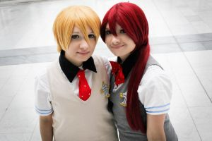 Free! - Nagisa and Gou by yummy--chan