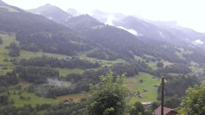 View from the chalet by MrTinyx