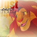 Simba- One of thouse days by Youshallfearme2