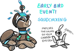 Evoloon Event_ EARLY BIRD EVENT CLOSED by griffsnuff