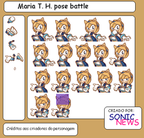 Maria T. H. pose battle by sonicnews