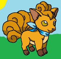 vulpix by Animallover08