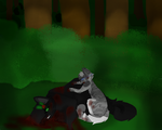 HollyLeaf's death by FireOfEmbers
