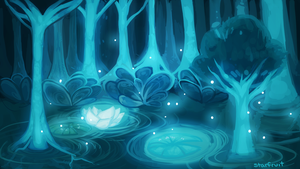 Blue Forest by JAYWlNG