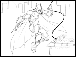 Batman Take 3 By Podapanda by Sketchydeez
