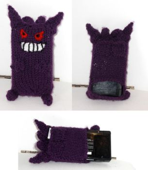 Pokemon DS Cozy: Gengar by TheSerialKnitter