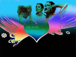 Michael Jackson Heart by MsBriedevmjj
