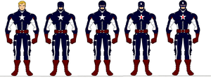 Captain America Redesigns by SplendorEnt