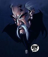 Dracula Sketch by Brian COLORS by Voodoodwarf