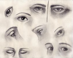 Practice: Eyes by nienor92