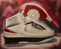 Air Jordan 2 by misternance