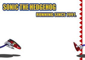 Sonic-Running Since 1991 by Sapphire1010