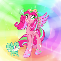 Rainbow Power Precious Metal by ParfaitPichu