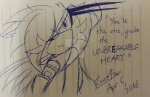 .:Unbreakable Heart:. by KurobaFox1412