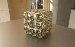 Fractal 3D Print Model on Shapeways by nic022