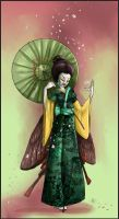 Madame Butterfly by ObsidianGecko