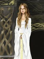 The White Lady of Rohan by DameOdessa
