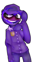 Purple Dude by yoymonkey